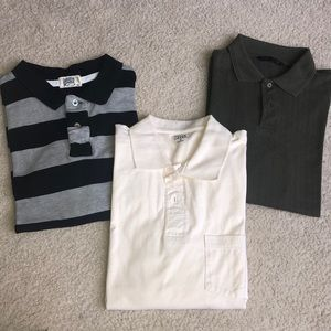 2 long sleeve collared men's shirts. Size M